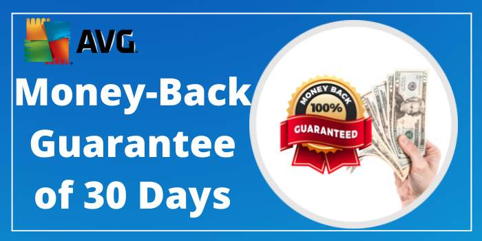 AVG money back guarantee