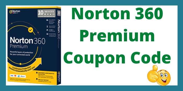 Norton 360 Premium Coupon Code