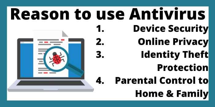 Reason to use antivirus