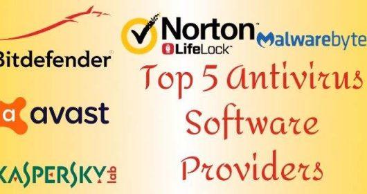 Top 5 Antivirus Software