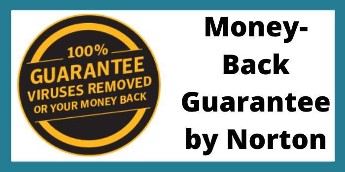 money-back guarantee by norton