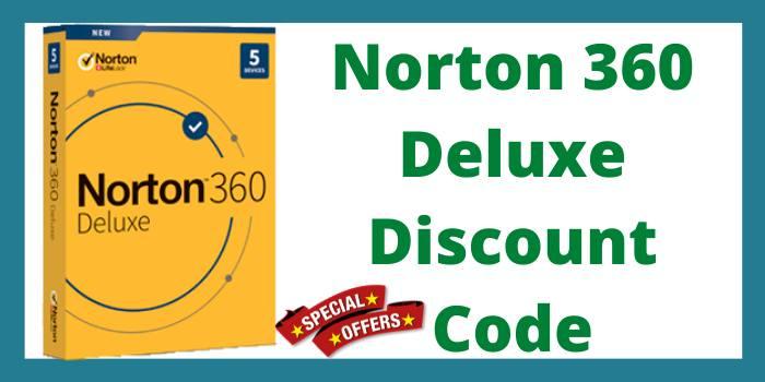 norton 360 deluxe discount code