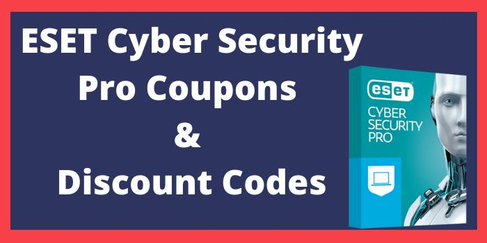 ESET cyber security pro coupons & discount codes