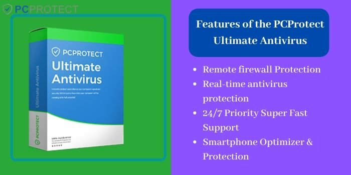 Features of the PCProtect Ultimate antivirus
