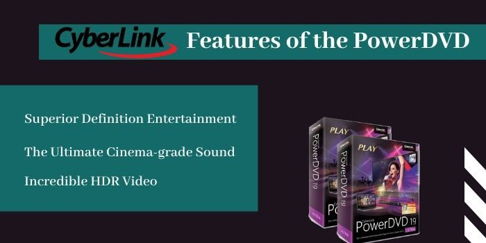 Features of the PowerDVD