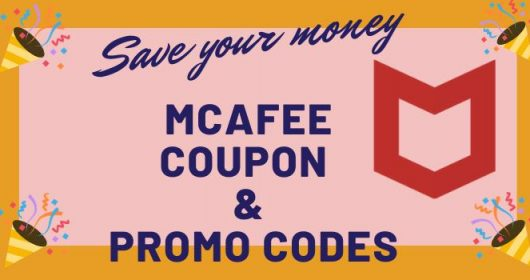 McAfee Coupon & Promo Codes