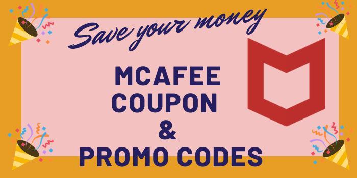 McAfee Coupon & Promo Codes