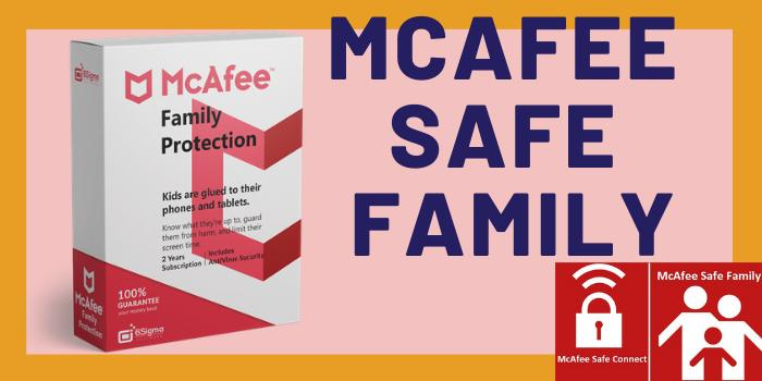 McAfee Safe Family