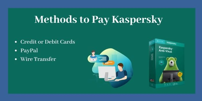 Methods to Pay kaspersky