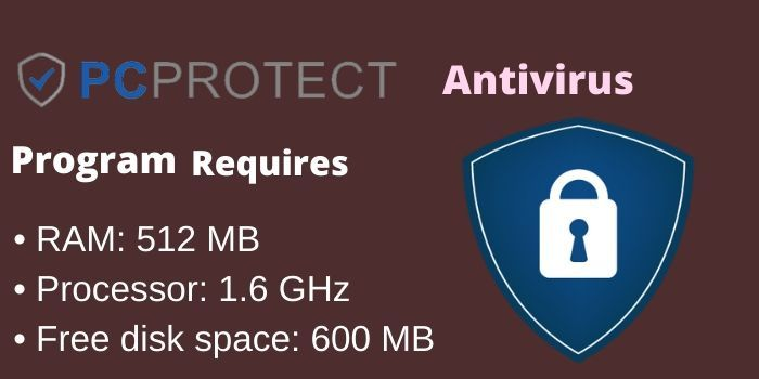 PC Protect Antivirus Requirement