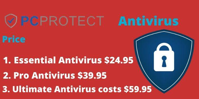 PC Protect antivirus Pricing