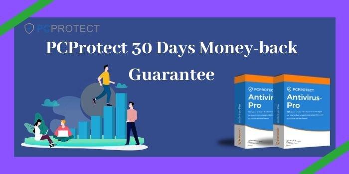 PCProtect 30 Days money-back Guarantee