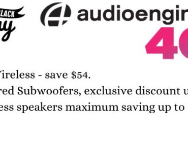AudioEngine Black Friday