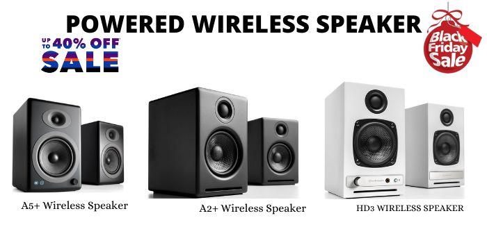 Powered Wireless Speaker Black Friday