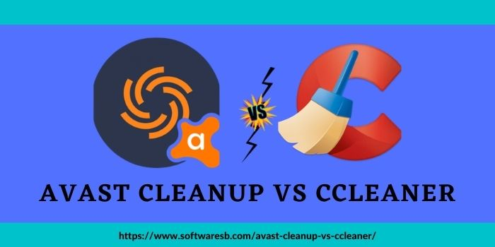 Avast Cleanup vs CCleaner www.softwaresb.com