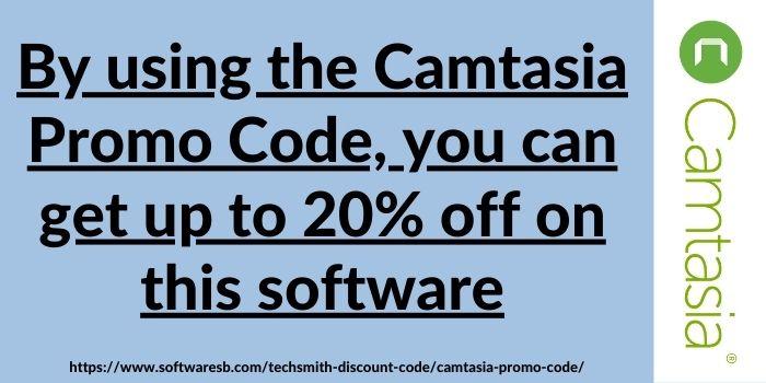 Camtasia Discount Code