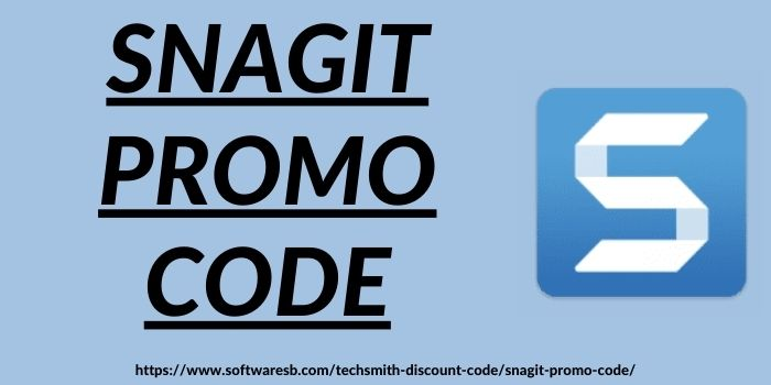 Snagit Promo Code www.softwaresb.com