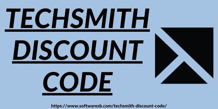 TechSmith Discount Code www.softwaresb.com
