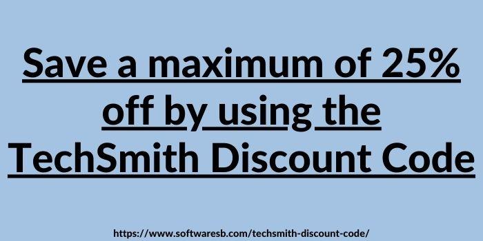 TechSmith Promo Codes