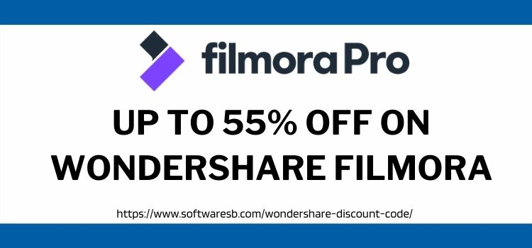Wondershare Filmora discount