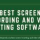 best screen recording and video editing software www.softwaresb.com