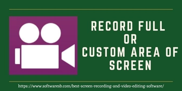 screen recording for PC