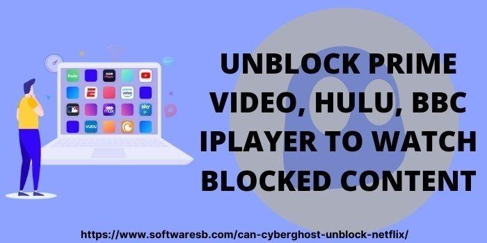 CyberGhost Netflix Unblock Devices