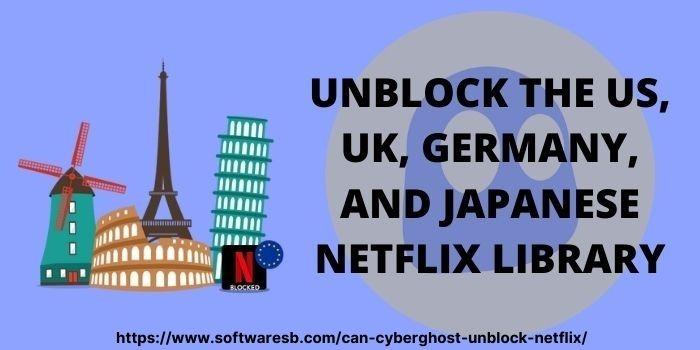 CyberGhost Netflix VPN