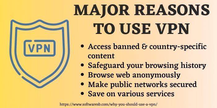 Reasons of choosing a vpn